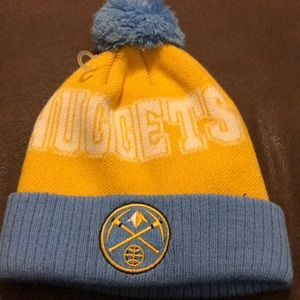 360555a5ede New Era Accessories - Youth Denver Nuggets Beanie Adidas